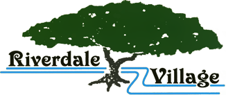 Riverdale Village green tree logo