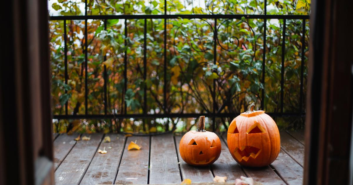 Halloween Porch Decoration